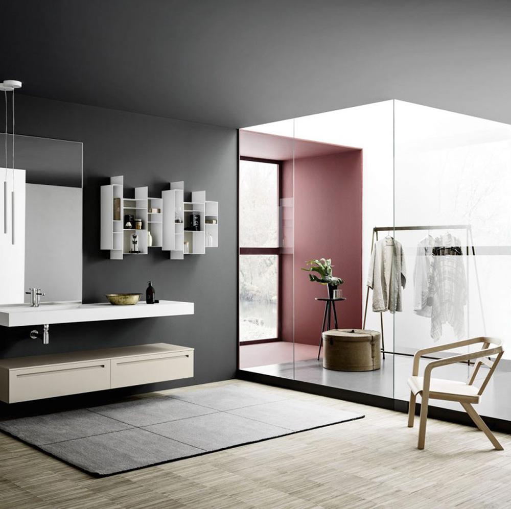Bagno semplice e moderno