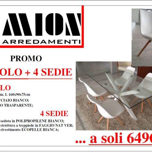 Promozione tavolo con sedie