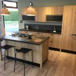 Cucina Scavolini Diesel in legno